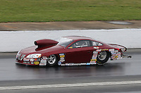 May 3, 2013; Commerce, GA, USA: NHRA pro stock driver Warren Johnson during qualifying for the Southern Nationals at Atlanta Dragway. Mandatory Credit: Mark J. Rebilas-