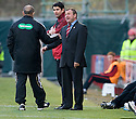 29/01/2011   Copyright  Pic : James Stewart.sct_jsp023_st_mirren_v_dundee_utd  .:: HAMILTON MANAGER BILLY REID COMPLAINS TO THE FOURTH OFFICIAL ::.James Stewart Photography 19 Carronlea Drive, Falkirk. FK2 8DN      Vat Reg No. 607 6932 25.Telephone      : +44 (0)1324 570291 .Mobile              : +44 (0)7721 416997.E-mail  :  jim@jspa.co.uk.If you require further information then contact Jim Stewart on any of the numbers above.........