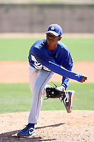 Beyker Fructuoso, Los Angeles Dodgers 2010 minor league spring training..Photo by:  Bill Mitchell/Four Seam Images.