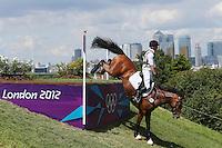 LONDRES, INGLATERRA, 30 JULHO 2012 - OLIMPIADAS 2012 - CROSS COUNTRY - O atleta Peter Thomsen da Alemanha durante a prova do Cross Country nas  Olimpiadas de Londres, nesta segunda-feira, 30. (FOTO: PIXATHLON / BRAZIL PHOTO PRESS).