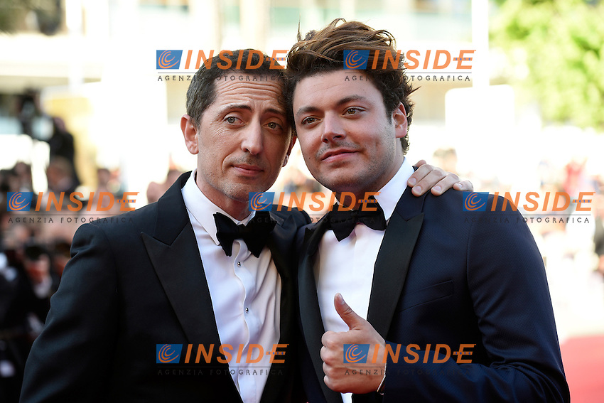 Kev Adams, Gad Elmaleh <br /> Cannes 21-05-2016 <br /> Festival del Cinema di Cannes 2016<br /> Foto Panoramic / Insidefoto