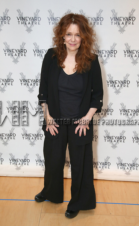 """Deirdre O'Connell during the cast photo call for the Vineyard Theatre Production of Dana H."""" at the Vineyard Theatre Rehearsal Studios on February 4, 2020 in New York City."""