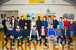 Kerry U17 SSE Airtricity Squad was officially announced at  Mounthawk Park on Monday Pictured front l-r Robert Osbourne , Killarney Celtic , Ben Cooney , Castleisland Afc, Dylan O'Sullivan , Killorglin Fc, Michael O'Gara , St Brendans Park Fc, Thomas Burke , St Brendans Park Fc, Sheldon Neill , Listowel Celtic, Darren Loughnane , Listowel Celtic, Thando Dube , Killarney Celtic, Back l-r Brendan Hogan, Coach, Blake Bolster , St Brendans Park Fc, Dylan Fitzgerald , Killarney Athletic, Shaagh O'Connor , Kerry ETP, Brian Lonergan , Castleisland Afc, Conor Standen , Killorglin Fc, Gearóid Dillane , Tralee Dynamos, Kevin Williams , Tralee Dynamos, Séan Carmody , St Brendans Park Fc, David O'Connor , Tralee Dynamos , Dillon Robinson , Tralee Dynamos, Martin Coughlin , Kerry ETP, Niall Downey , Listowel Celtic Danny Diggins ,Coach