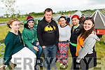 Pictured at the Wetlands Music Festival on Saturday, were l-r: Sorcha NB (Dingle) Phil Ahern (Dublin) Damien Ruddy (Mayo) Rebecca Kelly (Tipperary) Emily Dolkowska (Tralee) Edel Egan (Limerick).