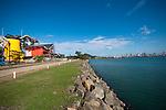 Construccion del Biomuseo de Panama. Primer edificio diseñado por Frank Gehry en America Latina. Panama, ..13 de enero de 2012. (Victoria  Murillo/ Istmophoto.com)