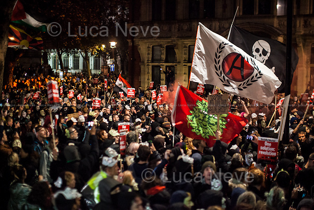 Great George Street - &quot;We Are Many&quot;.<br />