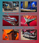 Published photography by Larry Angier..Photography and design of poster for local hotrod car show, Jackson