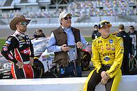 13-21 February, 2016, Daytona Beach, Florida USA<br /> Austin Dillon, Richard Childress and Ty Dillon, Leavine Family Racing<br /> ©2016, F. Peirce Williams
