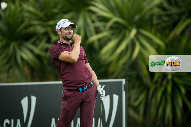 Lee Slattery (ENG) during the 3rd round of the AfrAsia Bank Mauritius Open, Four Seasons Golf Club Mauritius at Anahita, Beau Champ, Mauritius. 01/12/2018<br /> Picture: Golffile | Mark Sampson<br /> <br /> <br /> All photo usage must carry mandatory copyright credit (&copy; Golffile | Mark Sampson)