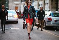 Chiara Ferragni at Milan Fashion Week (Photo by Hunter Abrams/Guest of a Guest)