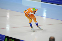 SCHAATSEN: HEERENVEEN: Thialf, KPN NK Allround, 04-02-2012, 5000m Heren, Maurice Vriend, ©foto: Martin de Jong