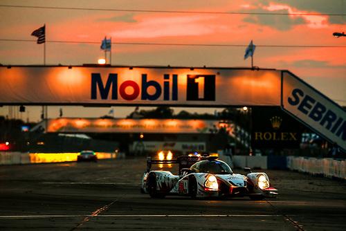 16-19 March, 2016, Sebring, Florida, USA<br /> 60, Honda HPD, Ligier JS P2, P, John Pew, Oswaldo Negri, Jr., Olivier Pla<br /> ©2016, Michael L. Levitt<br /> LAT Photo USA