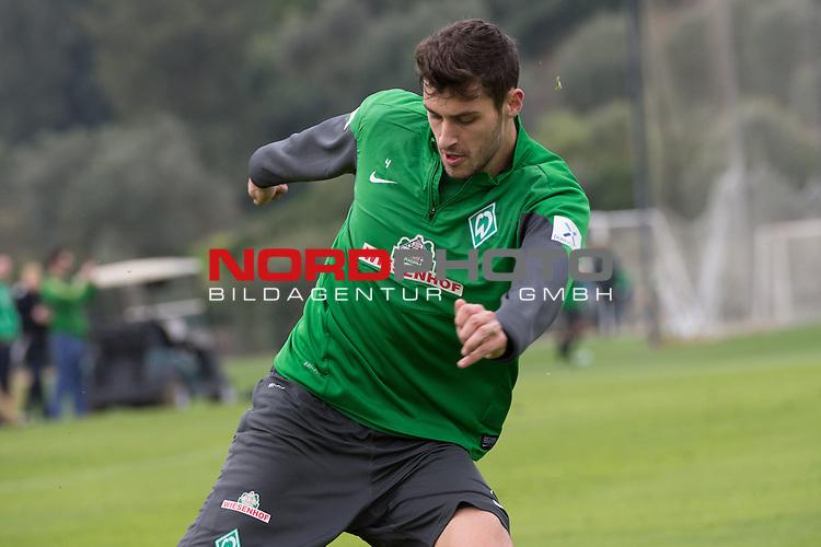 Trainingsgel&auml;nde, Jerez, ESP, 1.FBL, Trainingslager Werder Bremen 2014,  10.01.2014, <br /> <br /> Torben Rehfeldt (Bremen #19)<br /> <br /> Foto &copy; nordphoto/ Kokenge