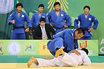 Masashi Ebinuma (JPN), .April 21, 2013 - Judo : .Asian Judo Championships 2013, Men's Team Competition Final .at Bangkok Youth Centre, Bangkok, Thailand. .(Photo by Daiju Kitamura/AFLO SPORT) [1045]