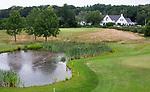 GROESBEEK - Nijmeegse Baan hole 15 met 18 en clubhuis.   Golfbaan Het Rijk van Nijmegen. COPYRIGHT  KOEN SUYK