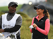 30th September 2017, Windross Farm, Auckland, New Zealand; LPGA McKayson NZ Womens Open, third round;  USA's Cheyenne Woods at the first tee