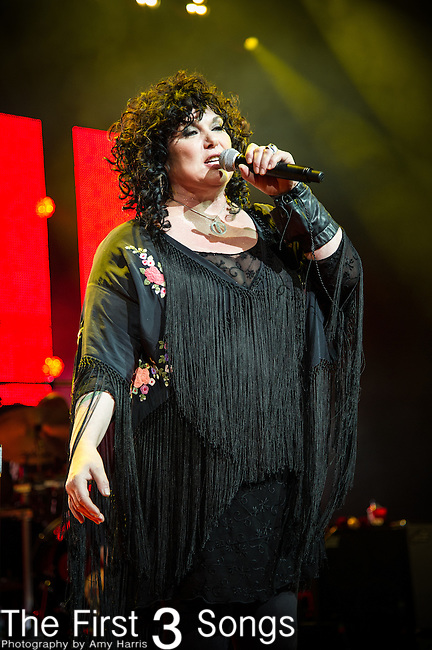 Ann Wilson of Heart performs at Riverbend Music Center in Cincinnati, Ohio.