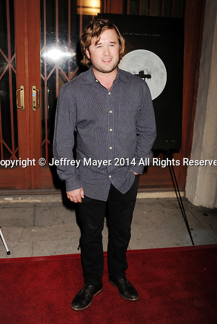 LOS ANGELES, CA- SEPTEMBER 16: Actor Haley Joel Osment arrives at the Los Angeles premiere of 'Tusk' at the Vista Theatre on September 16, 2014 in Los Angeles, California.