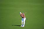 AUGUSTA, GA: APRIL 11 - Francesco Molinari of Italy during the second round of the 2014 Masters held in Augusta, GA at Augusta National Golf Club on Friday, April 11, 2014. (Photo by Donald Miralle)