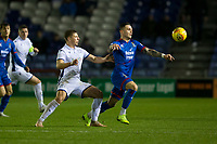 23rd November 2019; Caledonian Stadium, Inverness, Scotland; Scottish Championship Football, Inverness Caledonian Thistle versus Dundee Football Club; Miles Storey of Inverness Caledonian Thistle and Sean Mackie of Dundee  - Editorial Use