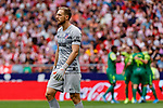 Jan Oblak of Atletico de Madrid defeated during La Liga match between Atletico de Madrid and SD Eibar at Wanda Metropolitano Stadium in Madrid, Spain.September 01, 2019. (ALTERPHOTOS/A. Perez Meca)