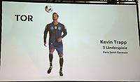 Kevin Trapp (Paris Saint Germain) ist für den WM Kader nominiert - 15.05.2018: Vorläufige WM-Kaderbekanntgabe, Deutsches Fußballmuseum Dortmund