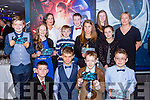East Kerry Junior Entrepreneurs who were guests of the Killarney Chamber of Commerce at  the Premiere of the Star Wars The Force Awakens in Killarney Cinema on Thursday Gary Coffey, Kirill Healy, Oisin O'Brien, John Power. Back row: Conor Harty, Keri-ann Hanrahan, Kate O'Leary Killarney Chamber of Commerce, Ciaran Cremin, Elena O'Donoghue, Michael O'Leary, Caelyn O'Grady, Linda Kennedy