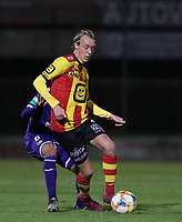 20191125 - WOLVERTEM: Mechelen's Gaeten Bosiers is in action during the Belgian Elite U21 league football match between RSC Anderlecht U21 and KV Mechelen U21 on Monday 25th of November 2019 at F. Lathouwersstadion, Wolvertem Belgium. PHOTO: SEVIL OKTEM|SPORTPIX.BE
