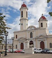 Cuba, Cienfuegos.  Cathedral de la Purisima Concepcion, 1833-69.