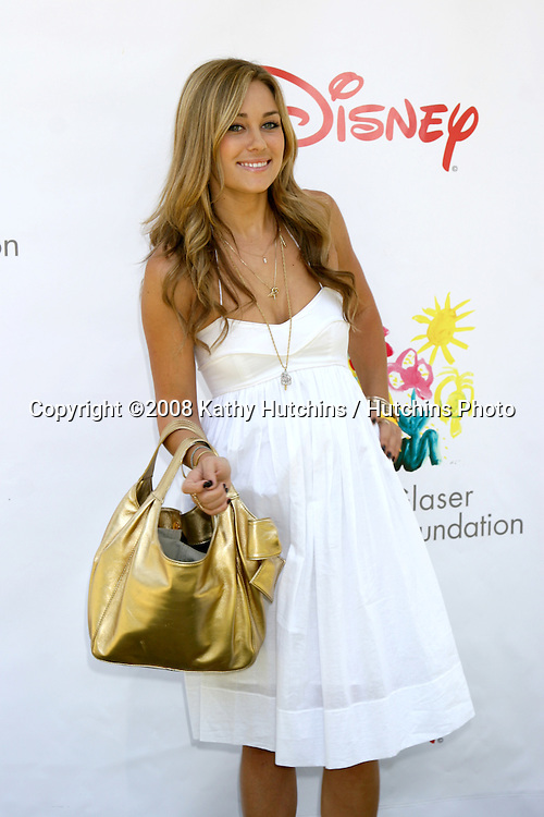 "Lauren Conrad  arriving at the ""A Time for Heroes"" Pediatric AIDS 2008 benefit at the Veterans Administration grounds.Westwood,  CA.June 8, 2008.©2008 Kathy Hutchins / Hutchins Photo ."