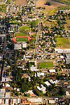 Aerial of Pacific University in Forest Grove, Oregon