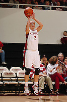 30 December 2005: Krista Rappahahn during the Stanford Cardinal's 77-56 win against the USC Trojans at Maples Pavilion in Stanford, CA.