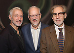 Scott Frankel, Doug Wright and Michael Korie attend the DGf: Salons - 'War Paint'  at Core club on September 26, 2017 in New York City.