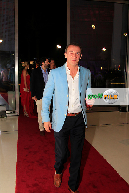Johnny during the 2015 Abu Dhabi Invitational Gala Evening held at The Viceroy Hotel, Yas Island, Abu Dhabi.: Picture Eoin Clarke, www.golffile.ie: 1/25/2015