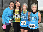 Bridget McCarthy, Catherine Rogers, Alison Shearman and Cora McGrane who took part in the Noel Carroll 10k race at Annagassan. Photo:Colin Bell/pressphotos.ie