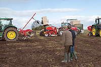 Potato planting - Shropshire, March