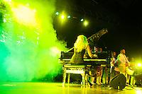SÃO PAULO-SP-11.11.2014-PRÊMIO JOVEM BRASILEIRO 2014 - Pianista Juliana D'Agostini durante o Prêmio Jovem Brasileiro 2014 no Palacio das convenções do Anhembi.Região norte da cidade de São Paulo na noite dessa terça-feira,11(Foto:Kevin David/Brazil Photo Press)