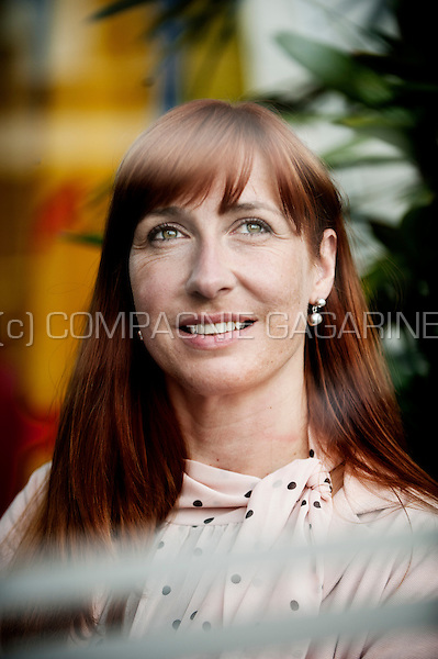 Pascale Delcomminette, assistent managing director of the Wallonie-Bruxelles-International organisation (Belgium, 03/06/2014)