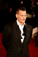 www.acepixs.com<br /> <br /> November 2 2017, London<br /> <br /> Johnny Depp arriving at the world premiere of 'Murder On The Orient Express' at the Royal Albert Hall on November 2, 2017 in London, England.<br /> <br /> By Line: Famous/ACE Pictures<br /> <br /> <br /> ACE Pictures Inc<br /> Tel: 6467670430<br /> Email: info@acepixs.com<br /> www.acepixs.com