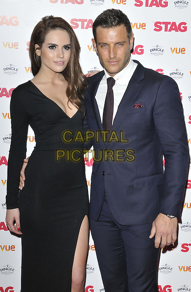 LONDON, ENGLAND - MARCH 13: guest &amp; Elliot Wright attend the &quot;The Stag&quot; gala film screening, Vue West End cinema, Leicester Square, on Thursday March 13, 2014 in London, England, UK.<br /> CAP/CAN<br /> &copy;Can Nguyen/Capital Pictures