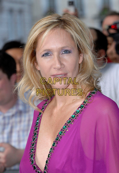 TANIA BRYER.Glamour magazine's 3rd Annual Woman of the Year Awards.Berkeley Square Gardens - Arrivals.6th June 2006 London, England.Ref: FIN.headshot portrait.www.capitalpictures.com.sales@capitalpictures.com.© Capital Pictures.