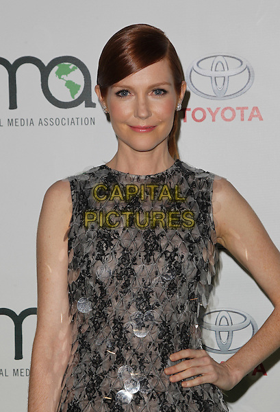18 October 2014 - Burbank, California - Darby Stanchfield. 24th Annual Environmental Media Awards Presented By Toyota And Lexus Held at The Warner Brothers Studios.   <br /> CAP/ADM/FS<br /> &copy;Faye Sadou/AdMedia/Capital Pictures