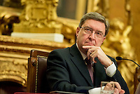 "Roma 4 Febbraio 2014<br /> Il Ministro del Lavoro e delle Politiche sociali, Enrico Giovannini , partecipa alla presentazione  del  documento conclusivo dell'indagine conoscitiva su ""Misure per fronteggiare l'emergenza occupazionale, con particolare riguardo alla disoccupazione giovanile"", a  Palazzo Montecitorio.<br /> Rome, February 4, 2014 <br /> The Minister of Labour and Social Policy, Enrico Giovannini, participates in the presentation of the final study document on ""Measures to deal with the emergency employment, especially with regard to youth unemployment,""  to Palazzo Montecitorio."
