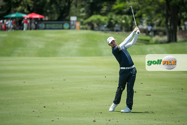 Haydn Porteous (RSA) during the 1st round of the AfrAsia Bank Mauritius Open, Four Seasons Golf Club Mauritius at Anahita, Beau Champ, Mauritius. 29/11/2018<br /> Picture: Golffile | Mark Sampson<br /> <br /> <br /> All photo usage must carry mandatory copyright credit (© Golffile | Mark Sampson)
