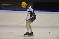 SCHAATSEN: HEERENVEEN: IJsstadion Thialf 05-02-2016, Topsporttraining en wedstrijd, Daniel Greig (AUS), ©foto Martin de Jong