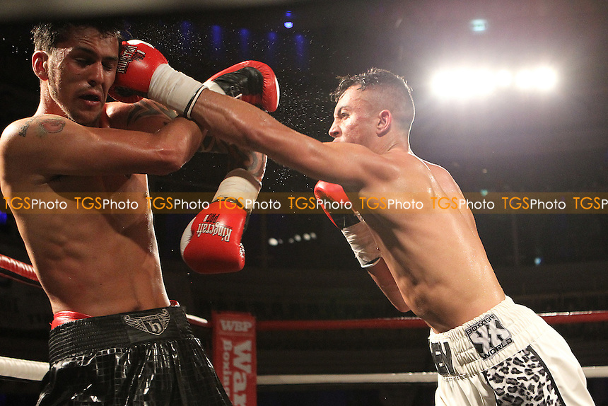 Michael McKinson vs Jerome Samuels- Boxing at O2 Academy, Bournemouth Dorset United Kingdom - 04/07/15 - MANDATORY CREDIT: Chris Royle/TGSPHOTO - Self billing applies where appropriate - contact@tgsphoto.co.uk - NO UNPAID USE