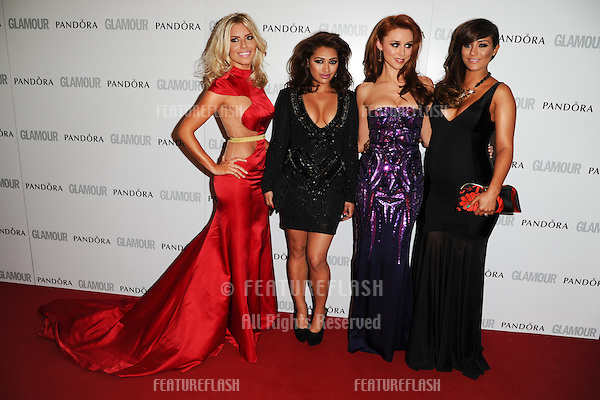 The Saturdays arriving for the 013 Glamour Women of The Year Awards, Berkeley Square, London. 04/06/2013 Picture by: Steve Vas / Featureflash
