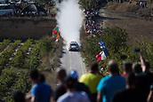 6th October 2017, Costa Daurada, Salou, Spain; FIA World Rally Championship, RallyRACC Catalunya, Spanish Rally; Jari Matti Latvala  - Miikka Antilla of Toyota Gazoo Racing WRT  during the SS3 in Villalba dels Arcs