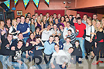 6522-6527.Birthday Boy - James Godley from Kilmoyley, seated centre having a great night with family and friends at his 21st birthday party held in McElligot's Bar, Ardfert on Saturday night................................................................................................................... ............