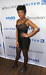 Brandy backstage at United presents 'Stars in the Alley' in  Shubert Alley on May 27, 2015 in New York City.